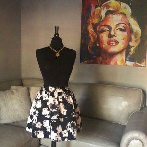 Brand New Express Floral Skirt